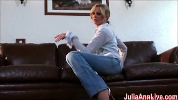 sexy milf julia ann cums from.