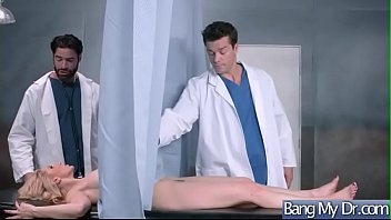 hardcore sex between doctor and slut horny patient.