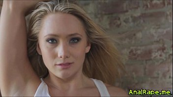 aj applegate'_s first double anal gangbang.