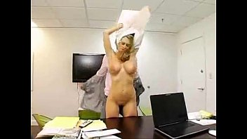incredible busty business chick fucked by her boss.