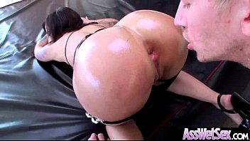 round sexy booty girl get her ass nailed.