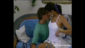 indian couple sucking and fucking in lounge -.