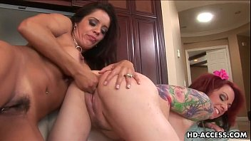 sexy francesca la and kylie ireland lesbian action.