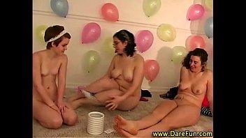 all girl balloon party