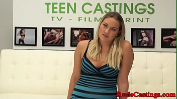 casting curvy teen gets hardfucked in.