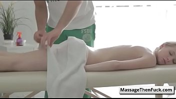 fantasy massage - russian girl takes a licking.