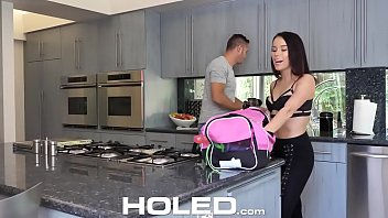 holed pornstar megan rain toys wet pussy before.
