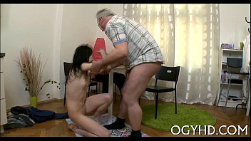 cute youthful gal fucked by old.