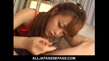 japanese whore makes her man moan.