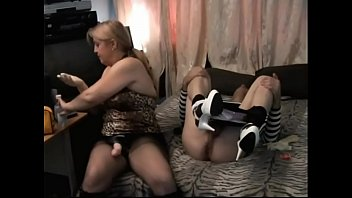 wife strapon sissy