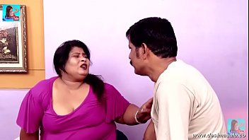 desimasala.co -fat aunty seducing two robbers (huge cleavage.