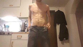 swedish male undressing