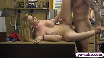 huge tits blonde lady railed by.