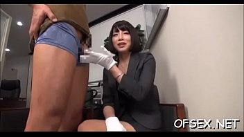 breasty businesswoman recieves a hard dick from her boss