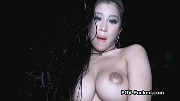 poolside sex with big tit asian.