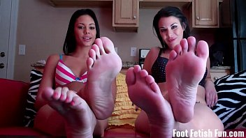 worship our feet and suck on.