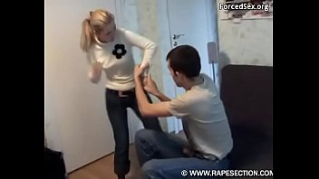 brother fucked his hot step sister - force fuck