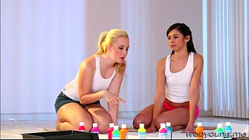 lovely girls samantha and taylor goes lesbo scissor sex