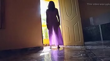 desi girl in transparent nighty boobs.