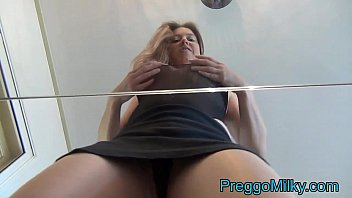 lactation lesbian human cow play full video on preggomilk.com