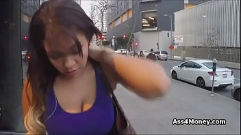 big tit gives ass for money