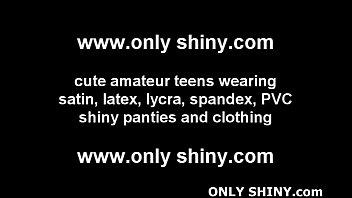 these shiny red pvc panties make me feel.