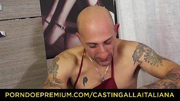casting alla italiana - hardcore anal audition with.