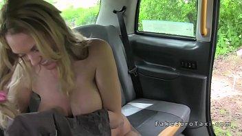 monster boobs blonde gets breasts cumshot.