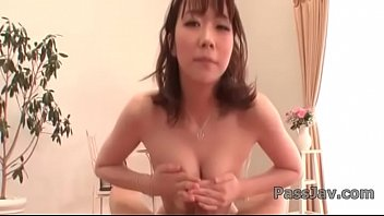 hitomi oki provides pleasure on a.