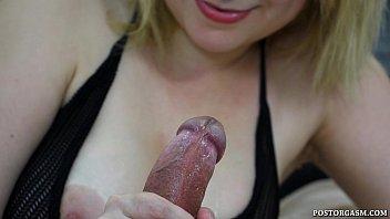 post orgasm cumpilation #1
