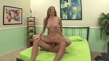 slutty blonde is picked up by a man.
