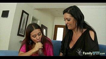 mother teaching daughter 351
