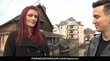 la novice - hot pussy fuck with french.