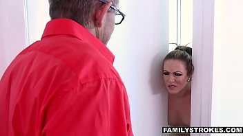 familyfuckers.net - hot milf seduces her daughter and husband