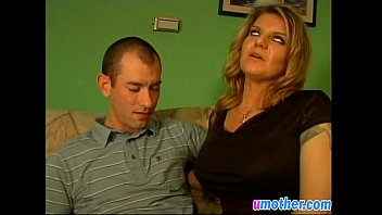 lusty mother with big tits seduces guy and.