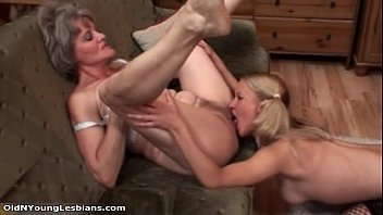 old lesbian goes crazy getting her.