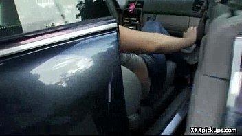 public pickups - amateur sexy teen fucks in.