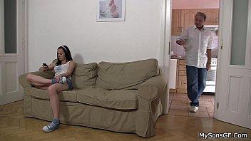 older man lures hot son&#039_s girl
