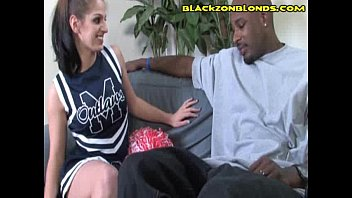 white cheerleader black cock stroke