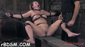 widening open slave'_s cum-hole