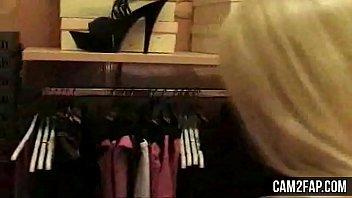 two portuguese women goes to a sex shop porn