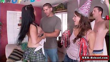busty teacher and schoolgirl get fucked in classroom 23