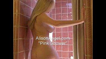 alison angel - pink shower