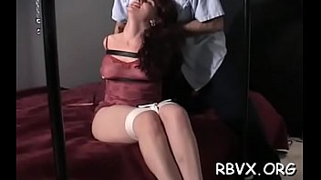 naughty sweetheart gets mistreated and titillated.