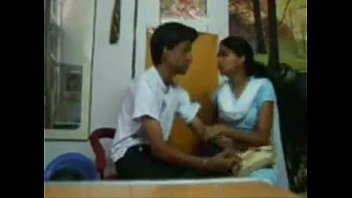 indian hot sexy girl with her boyfriend hidden.