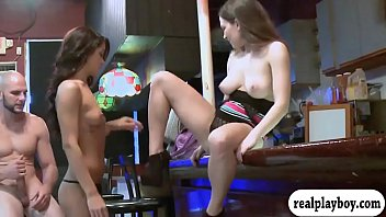two tight women get pounded in.
