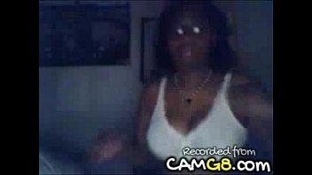 chubby ebony college girl on webcam.
