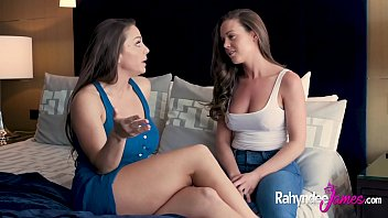 abigail mac and rahyndee james have intimate lesbian sex