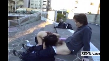subtitled extreme japanese public nudity outdoor.
