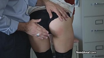 secretary'_s ass licked and fucked by.